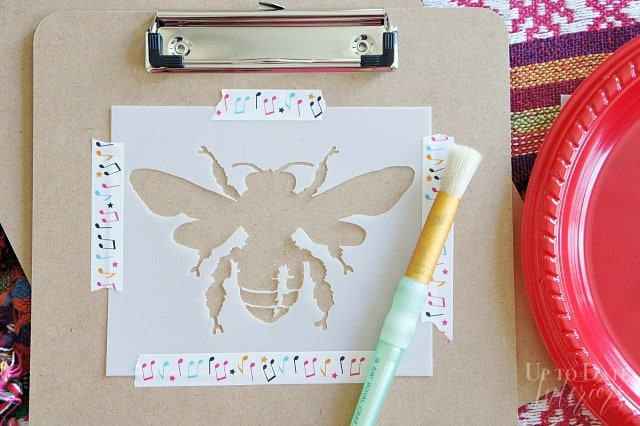 Steps For Stenciling