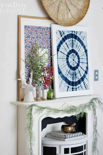 How to Fashion a Colorful Global Mantel for Fall