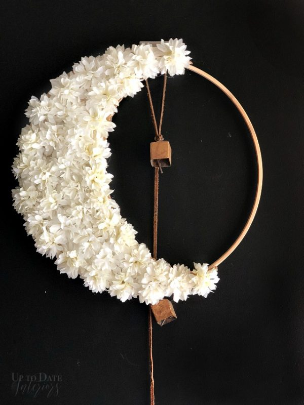 Crescent Moon Wreath Halloween