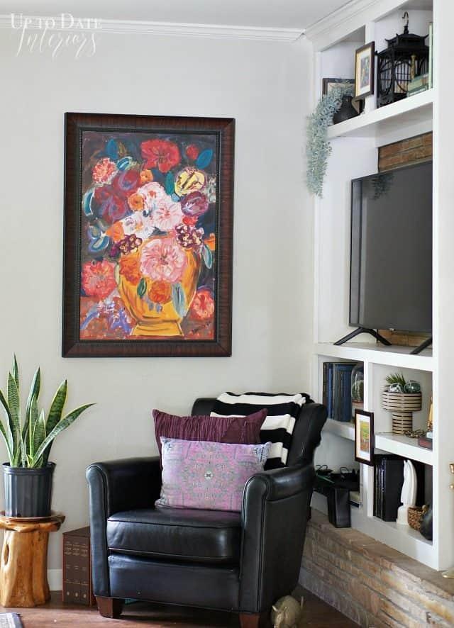 Eclectic Seating Corner Bright Art