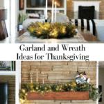 Garland Wreath Thanksgiving