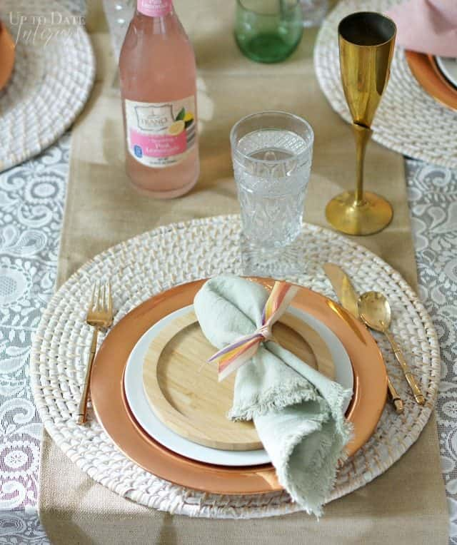 Kool Aid Dyed Linen Napkin