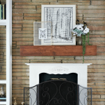 Mantel Decor Pinterest Black