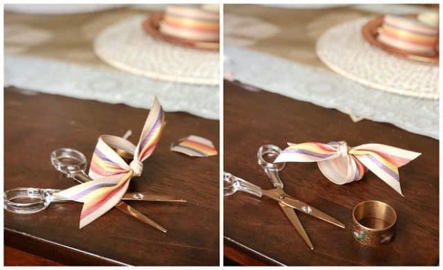 Nanpkin Ring Diy Ribbon