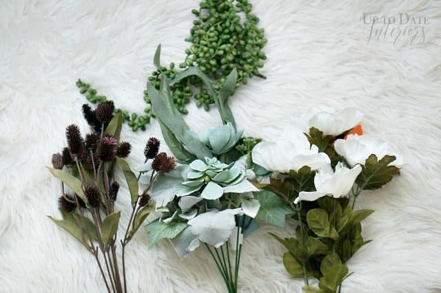 Supplies For Fall Floral Arrangement
