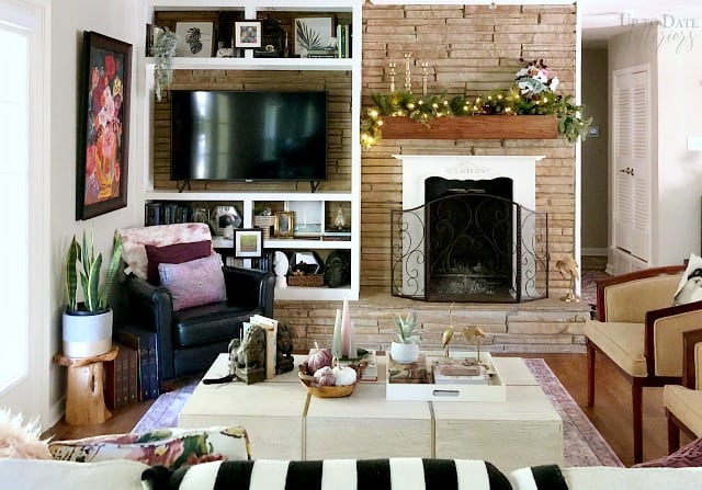 Thanksgiving Living Room Wide