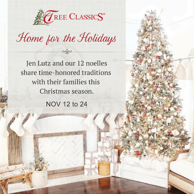 home for the holidays with tree classics