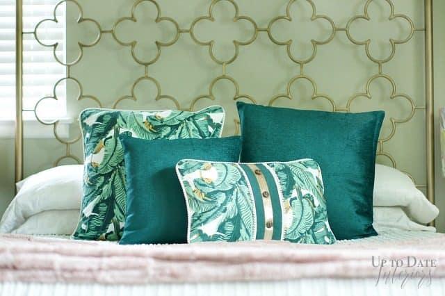 Boho Glam Bedroom With Dex Den