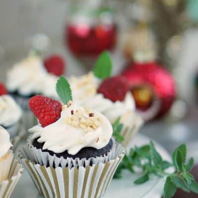 Christma Cupcake Decorated Pre Made