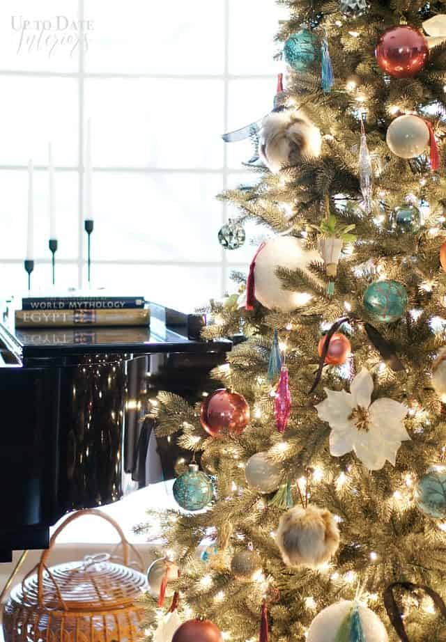 Christmas Tree Piano Tall