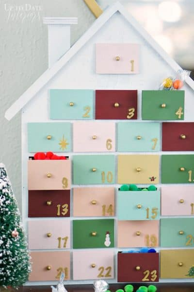 Colorful And Modern Advent Calendar