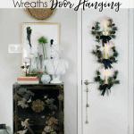 Copper Wreath Christmas Door Hanging