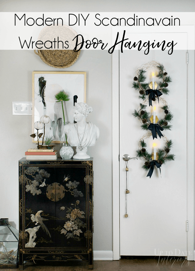 Copper Wreath Christmas Door Hanging