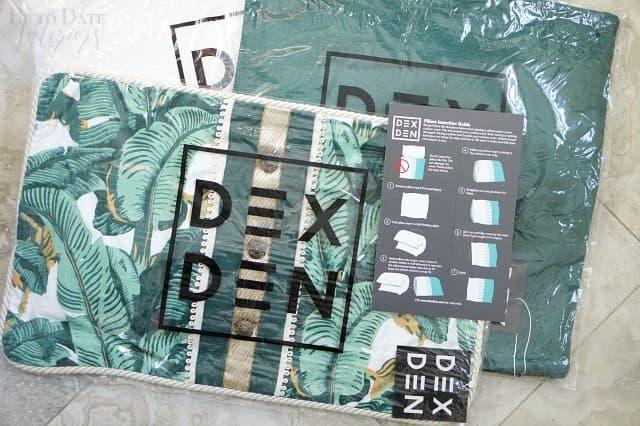 Dex Den Throw Pillows Glam Boho Bedroom