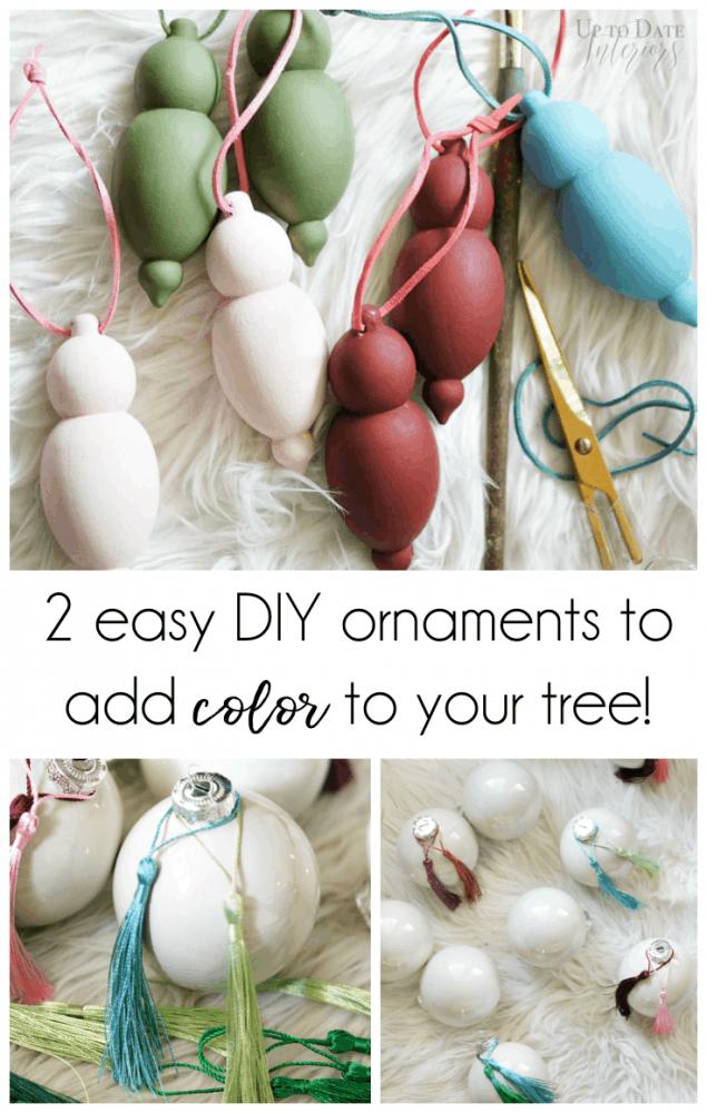 Diy Colorful Ornaments