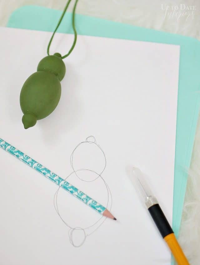 Diy Stencil Ornament Draw