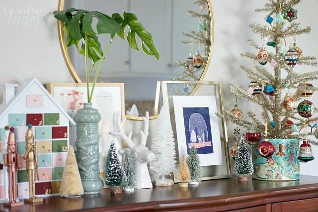Festive Holiday Vignette Globally Inspired