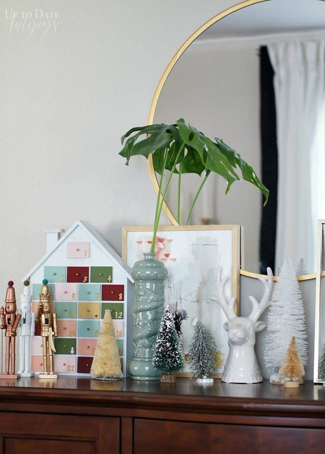 Global Eclectic Holiday Vignette And Decor