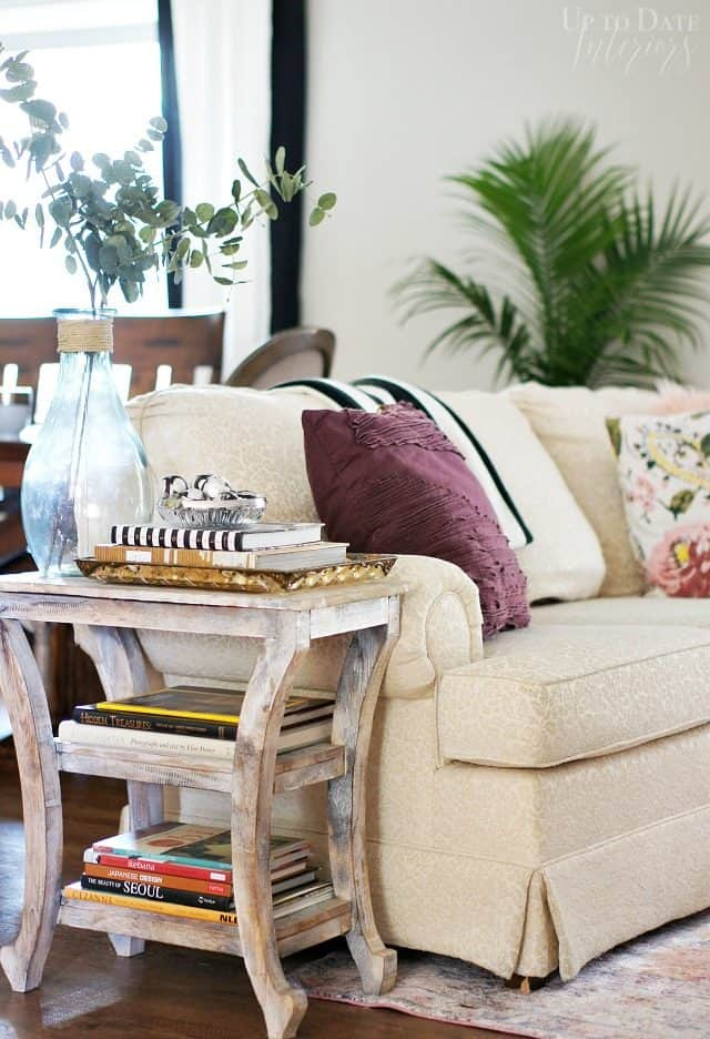 Global Eclectic Living Room Christmas