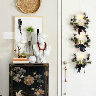 Modern And Global Home For Christmas