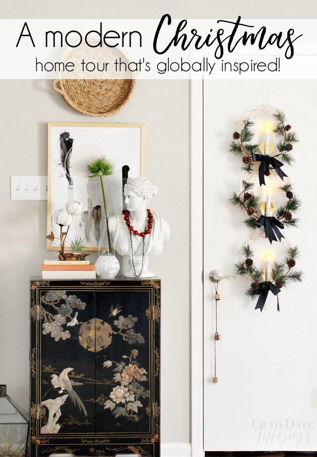 Modern Christmas Home Tour Globally Inspired