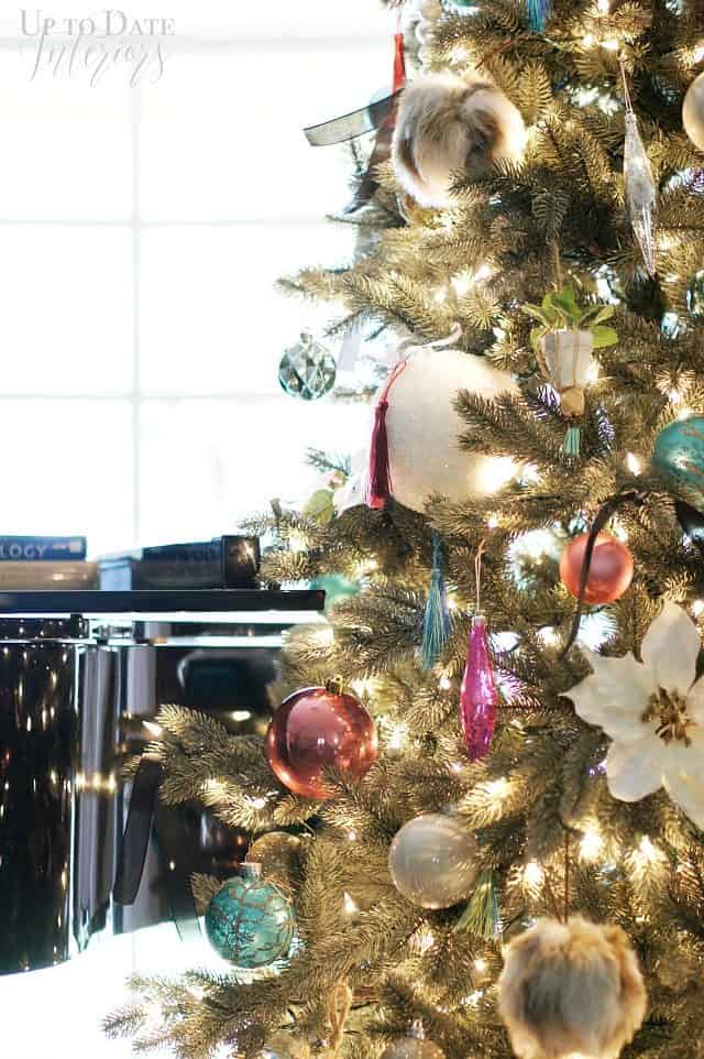 Modern Eclectic Elegant Christmas Tree My Home Style