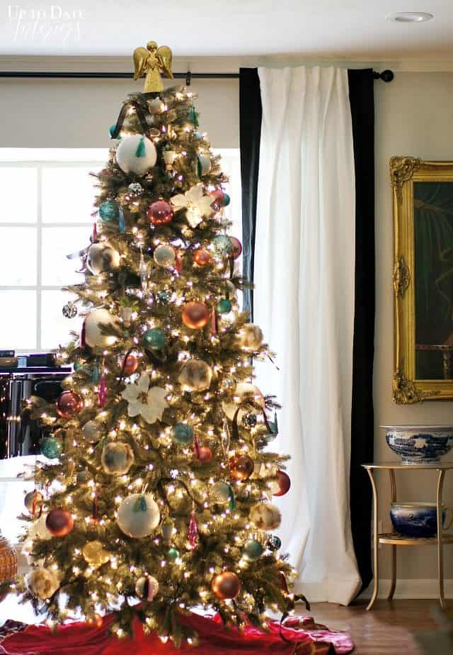 Modern Eclectic Glam Christmas Tree