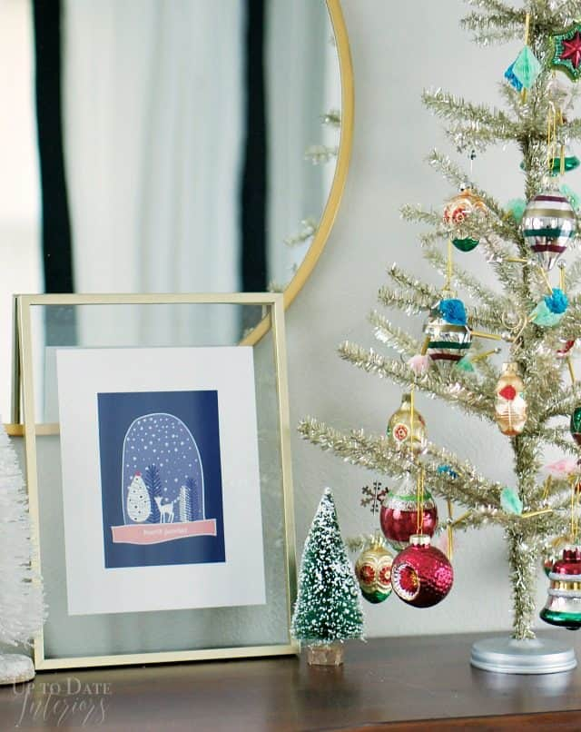 Printable Winter Modern Christmas Scandinavian