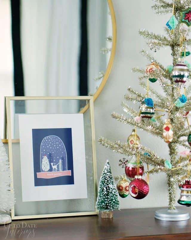 Printable Winter Modern Christmas Scandinavian