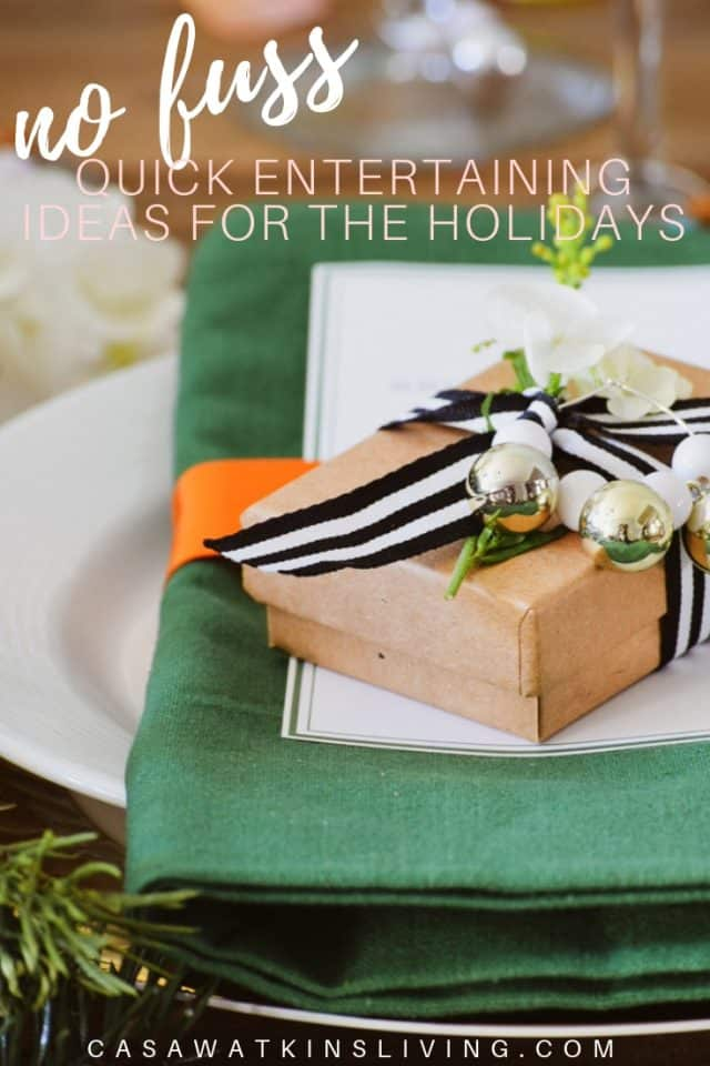 Quick Holiday Entertaining Ideas (1)