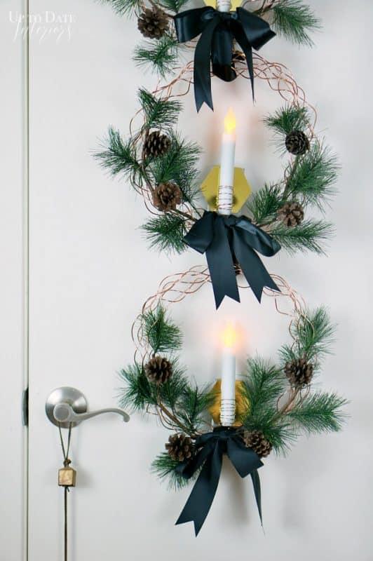 Wreaths Door Hanging Close Up