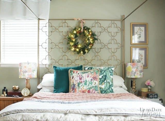 Christmas Bedroom Wide