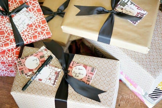 Gift Wrapping Diy Modern