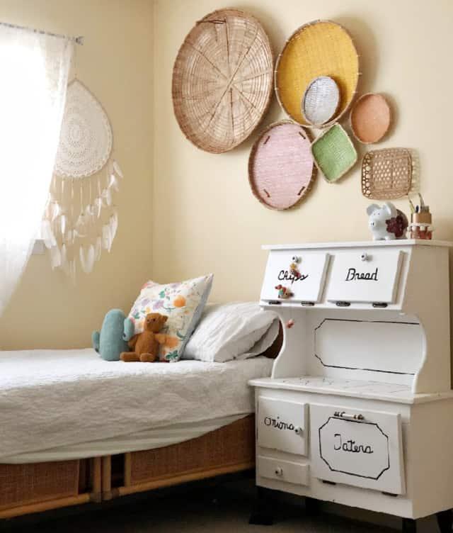 Gwens Bedroom Eclectic