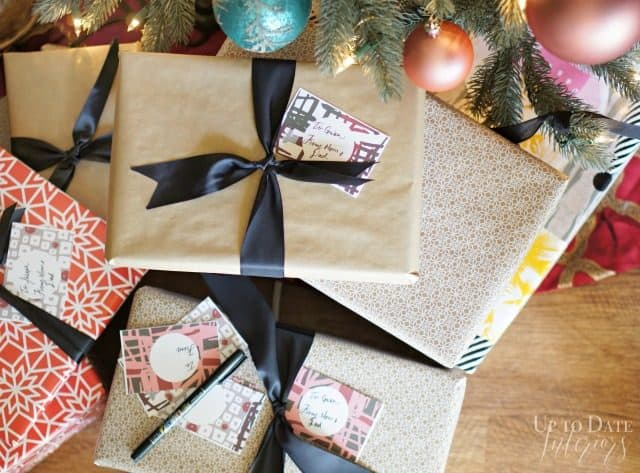 Holiday Gift Tags Modern
