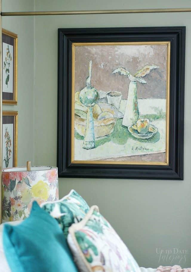 Painting Bedroom Boho Glam