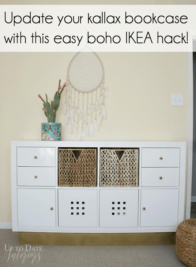 Ikea Kallax Boho Hack Pinterest