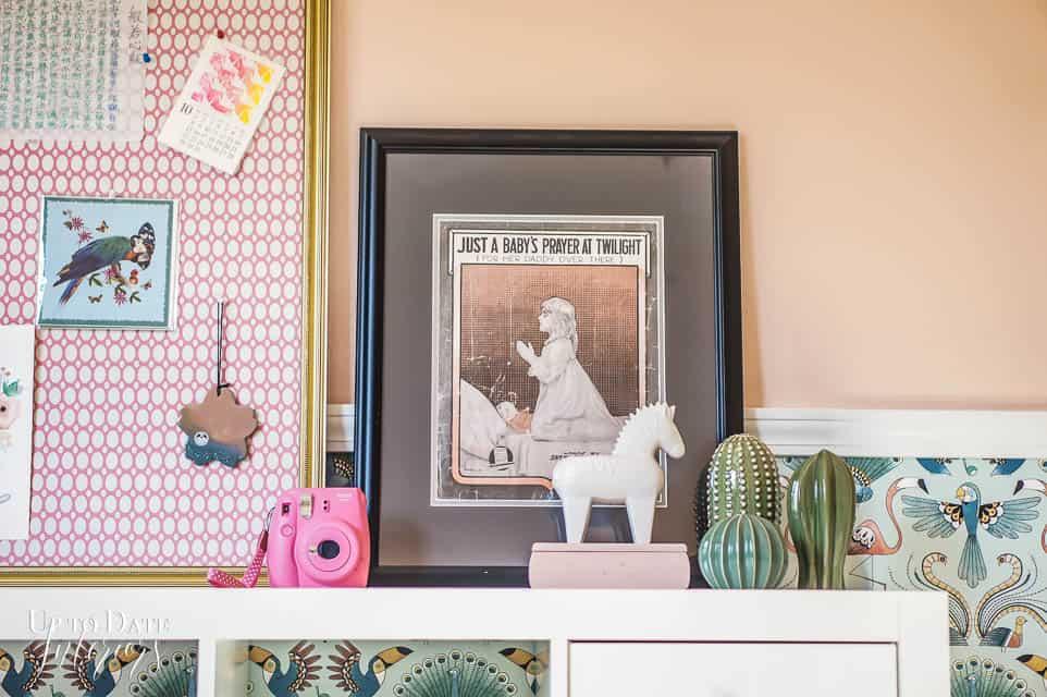 Art Display Ideas Girls Room