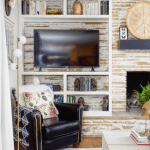 How T Decorate Around Your Tv Living Room Pinterest