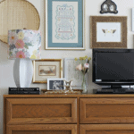 How To Decorate Around Your Tv On A Dresser Pinterest