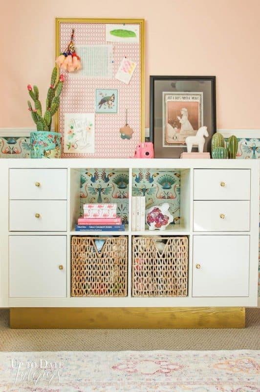 Ikea Hack Bookcase Boho Furniture Kids Storage