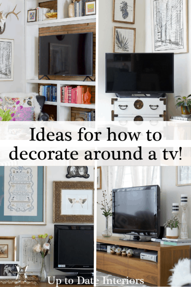 Easy and Creative Solutions for TV Stand Decor | Up to Date ...
