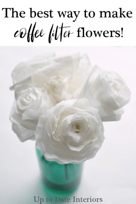 Best Way Coffee Filter Flowers Pinterest Black