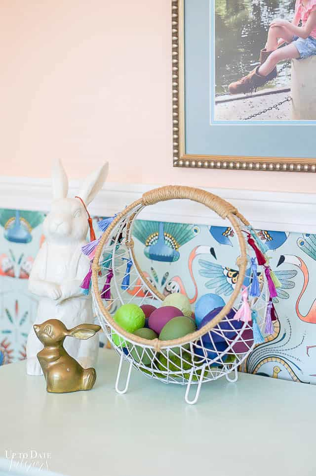 Boho Easter Basket 12