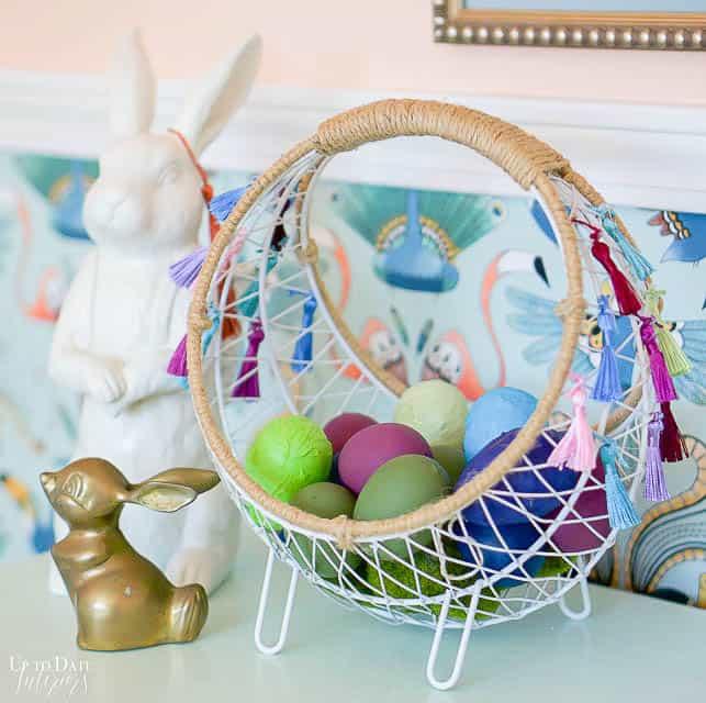 Boho Easter Basket 13