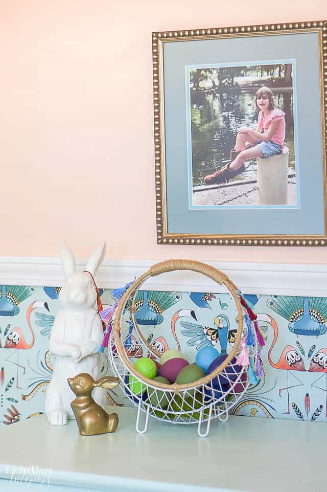 Boho Easter Basket 14