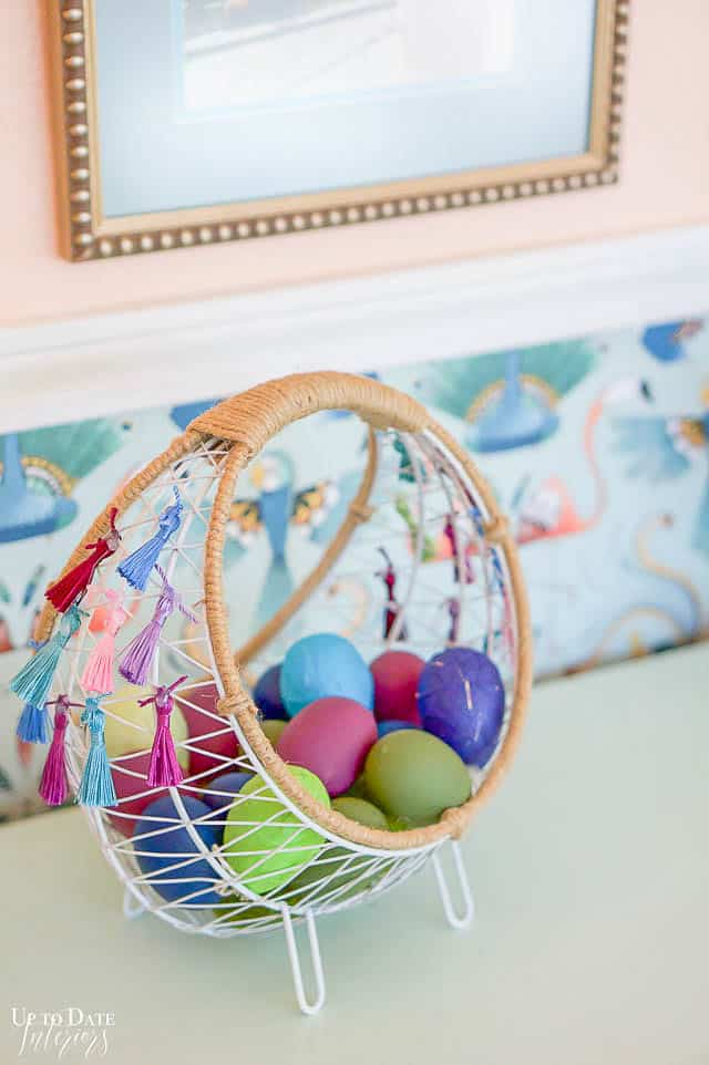 Boho Easter Basket 6