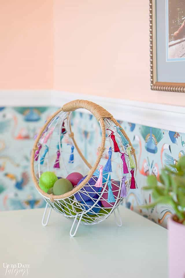 Boho Easter Basket 7