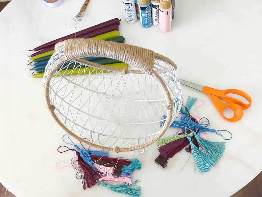 Boho Easter Basket 8