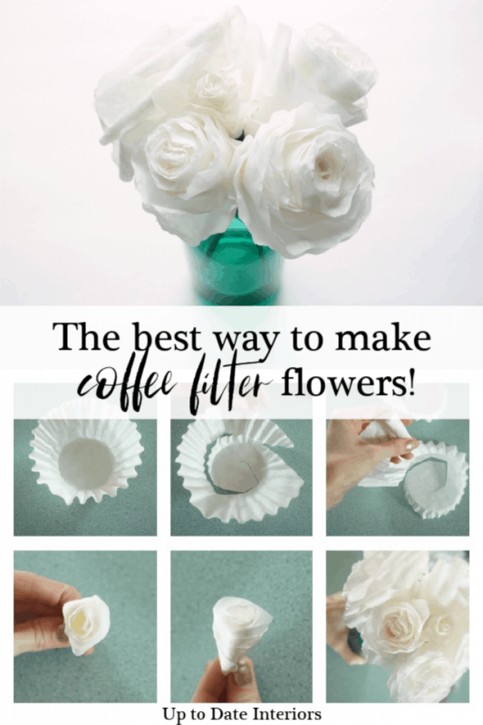 Coffee Filter Flowers Pinterest Duo Black